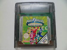 GAMEBOY COLOR GBC GAME POWER RANGERS TIME FORCE TESTED