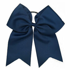 2016 Girls Hair Accessories Large Handmade Cheer Bow With Elastic Band 8 Inch UK