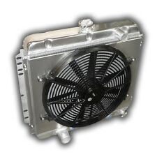 NEW Killer Aluminum Radiator Mustang 1967 1968 1969 1970 3300 CFM FAN + SHROUD!