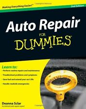 Auto Repair For Dummies by Deanna Sclar, (Paperback), For Dummies , New, Free Sh