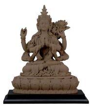 Avalokiteshvara Buddha Statue Sculpture Buddhism Figurine - GIFT BOXED