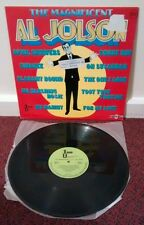 THE MAGNIFICENT AL JOLSON 1977 Brazil LP Vinyl Imagem 5074