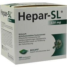 HEPAR SL 320 mg Hartkapseln 100 St