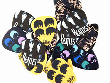 Lot 2 Médiators The Beatles Guitare Basse Rock NEUF
