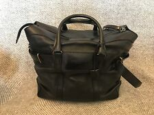 BURBERRY PRORSUM BLACK LEATHER HOLD-ALL WEEKEND BAG RRP £2250