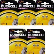 10 X Lr54 Duracell Pilas Alcalinas Ag10 vg10a 1.5 v 189 ka54 Lr1130