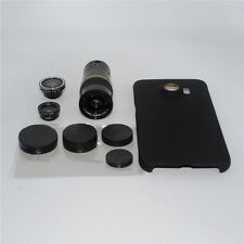 4in1 9x Zoom Telephoto Marco Camera Lens Case Kit For Samsung Galaxy S7 Edge