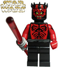 STAR WARS EXCLUSIVE SHIRTLESS DARTH MAUL Blocks Minifigures Kids Toys Gift