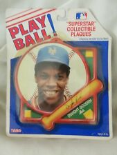 "NIP VINT. 1990/91 DWIGHT GOODEN ""SUPERSTAR"" PLAY BALL COLLECTIBLE PLAQUE - TARA"