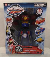 Power Rangers RPM High Octane Megazord Bandai 3 Zords Combine! Eagle Bear Lion