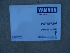 1992 Yamaha Marine Outboard Motor P60R 70R 90R Owner Manual WE GOT MANUALS    S