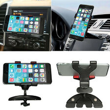 360° Car CD Slot Universal Clip Holder Mount Cradle Stand For iphone7 Phones GPS