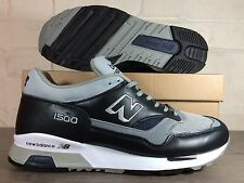 Mens New Balance 1500 UC Trainers UK Size 7 //  Black Grey  // Made In England