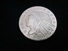 UNCIRCULATED .999 SILVER ROUND INDIAN--EAGLE DESIGN!!  #72***