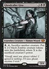GHOULCALLER GISA Commander 2014 MTG Black Creature — Human Wizard Zombie Mythic