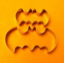 2 size Batman baking fondant pastry biscuit cookie cutter stainless set 412