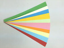 90 pcs double sided lucky star Origami folding paper, 10 colors.