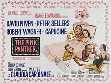 """The Pink Panther 16"""" x 12"""" Reproduction Movie Poster Photograph"""