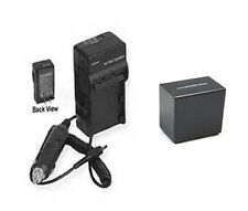 Battery + Charger for Sony NEX-VG20 NEX-VG20H NEXVG20 NEXVG20H