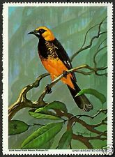 SPOT-BREASTED ORIOLE, NATIONAL WILDLIFE FEDERATION CINDERELLA 1968, MNH
