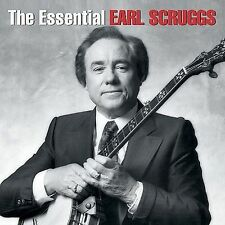 The Essential Earl Scruggs by Earl Scruggs CD, FACTORY SEALED