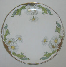 "Vintage Weimar Red Mark Handpainted China 9.5"" Pierce Handle Plate w/Daisies EUC"