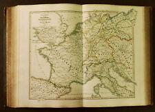 1854c,SPRUNER ATLAS: REPUBBLICA  IMPERIALE DI FRANCIA... Tav VI..ETNA