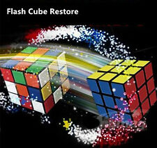 Flash Cube Restore Magic Cube Close Up Magic Tricks