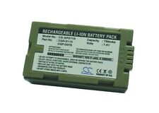 7.4V battery for Panasonic NV-DA1EN, PV-DV400, NV-GS1B, NV-DS150B, NV-MX300EG
