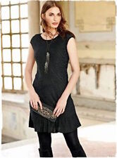 NWT PERUVIAN CONNECTION Royal ALPACA Knitted Lace DRESS XL