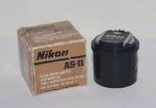 "NIKON AS-11 NIKON F3 FLASH COUPLER ADAPTER  TRIPOD 1/4"" SB-12 SB-17 SB-16A SB-21"