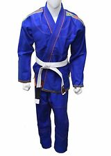AZ NEW BRAZILIAN JIU JITSU MARTIAL ARTS UNIFORM GI W/ FREE WHITE BELT-SL1270