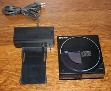 Vintage Sony D-14 CD Compact Disk player with AC-D50 Docking Adaptor