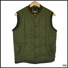 VINTAGE BARBOUR WAISTCOAT SHOOTING GILET COUNTRY TANK COTTON SMALL 38