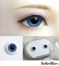 1/3 1/4 bjd 12mm mid blue glass doll eyes with box super dollfie #EB-22
