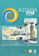 Kazakhstan-POLYMER TEST NOTE-SPECIMEN-Asian-DEVELOPMENT-BANK-DE-LA-RUE-2014