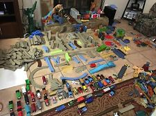 Thomas & Friends Train Trackmaster Huge Lot Track/Bldgs/Bridge/Rndhouse/Engines
