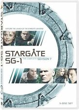 STARGATE SG-1 SEASON 7 New Sealed 5 DVD Set