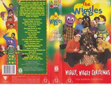 THE WIGGLES CHRISTMAS  VHS VIDEO PAL~ A RARE FIND