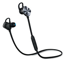 Mpow Bluetooth 4.1 Wireless Sports Headphones In-ear Jogging Headsets Mic Calls