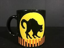 Vintage Waechtersbach Black Cat Mug - Halloween Mug - Halloween Coffee Cup
