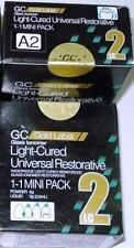 GC Fuji Gold Label 2 LC Light Cured Glass Ionomer Cement !!