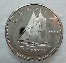 1988 CANADA 10 CENTS PROOF DIME COIN - A