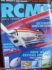 RCM&E JANUARY 2002 ULTIMATE 30 REVIEW CIR WING PRO PLAN EASTER EAGLE P MILLER