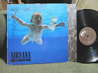 Nirvana Nevermind '91 LP Vinyl w/lyric inr rare orig holland press 1st A11/B3 !!