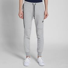 NIKE MENS TECH FLEECE PANT SKINNY JOGGERS GREY SIZE XL 545343 066