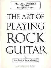 The Art of Playing Rock Guitar (1994, Paperback) Cherry Lane Music Songbook