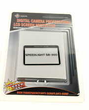 NIKON SPEEDLIGHT SB-900 GGS LCD SCREEN PROTECTOR NEW