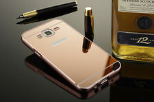 Aluminum Metal Mirror Case & PC Back Cover For Samsung Galaxy J7/J5/J1 2016 S7