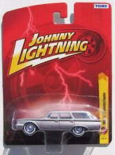JOHNNY LIGHTNING FOREVER 64 R27 1960 FORD COUNTRY SQUIRE STATION WAGON Rub Tires
